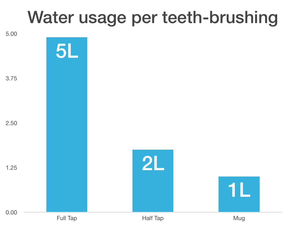brush teeth usage