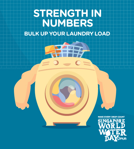Bulk up your laundry load.